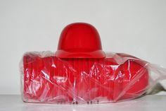 Blank Red (20) Ice Cream Sundae Baseball Helmets (free shipping)