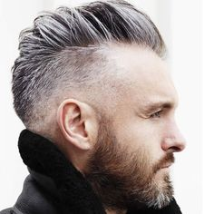 50 Grey Hair Styles & Haircuts For Men Mens Haircuts 2015, Popular Haircuts, Cool Haircuts, Men's Haircuts, Mens Hipster Haircuts, Stylish Haircuts, Trending Haircuts, Undercut Hairstyles, Boy Hairstyles