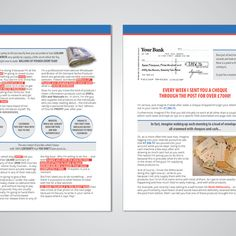 2 sided brochure template in microsoft publisher by k41z4 redesign and rebrand a 25 page salesletter i am setting up as a product licence broker saigontimesfo