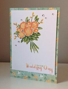 Beth's Little Card Blog: Wedding card