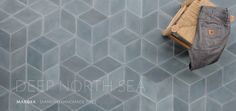 The Diamond North Sea tiles by Marokk