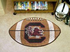 "South Carolina Football Rug 20.5""x32.5"""