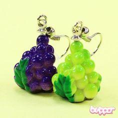 Grape Earrings (style 1)