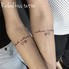 Tatuagens femininas mae e filha