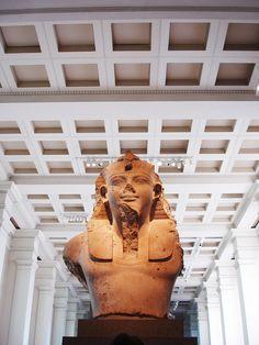 Colossal statue of Amenhotep III, British Museum