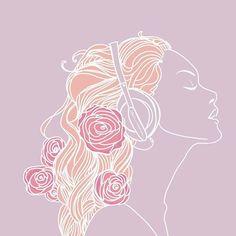. . . #fashion #illustration #illustrator #procreate #artist #artistofinstagram #art #design #designer #aiga #aigaco #aigany #aigasf #artistsoninstagram #staciadoodles #staciarasplicka #art_spotlight Abstract Portrait, Portrait Art, Pretty Art, Cute Art, Cat Valentine, Aesthetic Drawing, Sketchbook Inspiration, Pink Art, Floral Watercolor