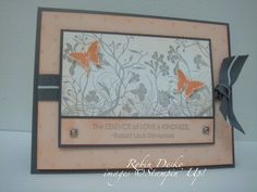 SC181 Butterfly of Kindness by stampinfool2003 - Cards and Paper Crafts at Splitcoaststampers