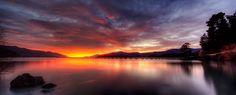 Sunsets and water Bay News, Our World, Some Pictures, New Zealand, Celestial, Sunsets, Water, Outdoor, Landscapes