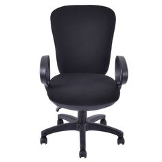 Mordern Ergonomic Mid-Back Executive Computer Desk Task Office Chair Black - Chairs - Furniture