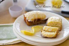 Iced Lemon Tea Cake