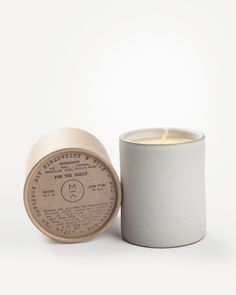White Cedar Candle by Maak Lab