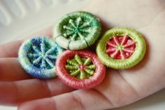 Dorset-Buttons2 by piecesofVe, via Flickr