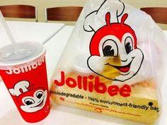 行列ができるジョリビー(Jollibee)フィリピンのファーストフード