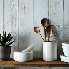 Spoons and spatulas, all in one place.