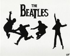 DeviantArt: More Like Jumping Silhouettes TheBeatles by shereallean