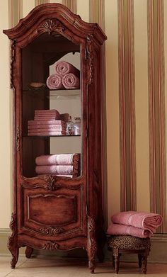 love this curio can be used in so many rooms