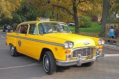 New York City Vintage Checker Taxicab