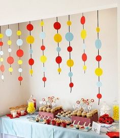 For Grayson's Birthday- Curious George Party First Birthday Parties, Birthday Party Decorations, Boy Birthday, First Birthdays, Happy Birthday, Birthday Ideas, Birthday Streamers, Party Streamers, Simple 1st Birthday Party Boy