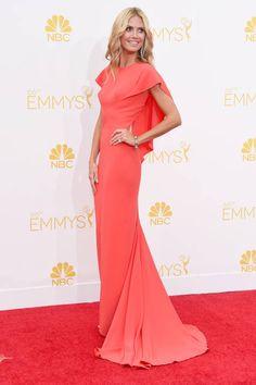 Heidi Klum looking like perfection. #Emmys