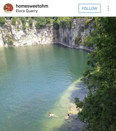 Elora Quarry River, Outdoor, Outdoors, Outdoor Games, The Great Outdoors, Rivers