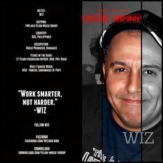 WIZ Underground Hiphop, Pop Rocks, The Wiz, Hip Hop, Artists, Music, Musica, Musik, Hiphop