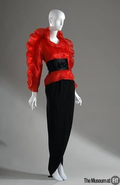 1981 Ensemble by Halston via The Museum at FIT