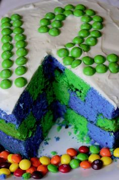 Seattle Seahawks Cake #superbowl #foodart