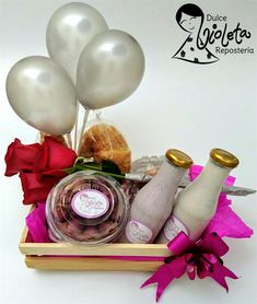 Hampers, Ideas Para, Gift Ideas, Table Decorations, Chocolate, Gifts, Art, Party Kit, Curls