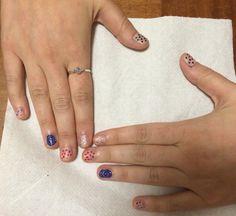 Pop-Art inspired nail art