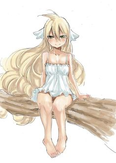 Mavis. You have to wonder how she was the first master of fairy tail. Then you realize just how powerful she really is.