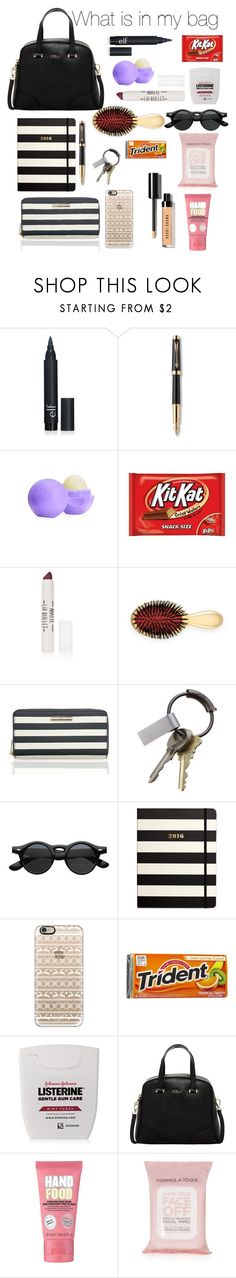 """What is in my bag. Hope you like it."" by jordangirl2313 ❤ liked on Polyvore featuring interior, interiors, interior design, hogar, home decor, interior decorating, Parker, Eos, Topshop y AERIN"