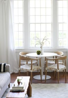 Spotted our Odyssey Dining Table in Small-Space Living in New Orleans' Garden District via @Design*Sponge  http://www.designsponge.com/2015/10/small-space-parisian-living-in-new-orleans-garden-district.html