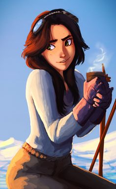 Just a pretty concept of a girl. I like it. Doesn't seem to have any geeky connotations.