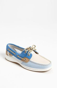One fish, two fish, red fish, bluefish boat shoe.