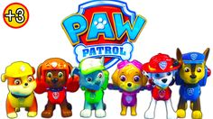Paw Patrol Action Pack Rescue Team Toy Review Chase Zuma Marshall Skye R...