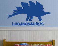Iguanodon Custom Wall Decals Wall Decal Art And Wall Decal - Custom vinyl wall decals dinosaur