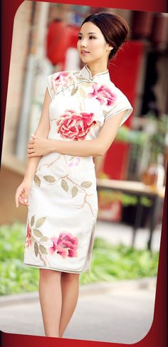beautiful qipao - maybe for bride too