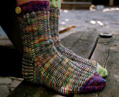 A Study in Scraps: Sock #1   Craftsy