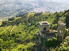 Perched atop Mount Erice and overlooking the city of Trapani is Erice, a coastal town filled with ancient ruins, pastry shops (almond cookies are a local specialty) and enough views of the sea to give you anxiety about posting too often on Instagram.