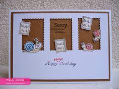 Miranda's Creaties: Snail mail