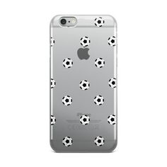 Soccer Ball iPhone case This case is sleek and light. Its solid, one-piece construction fits your phone perfectly, and it's easy to snap on and off. • Made of a polycarbonate plastic • Smooth, matte f
