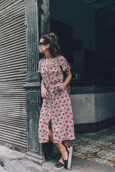 @roressclothes closet ideas #women fashion outfit #clothing style apparel Dress with Heart Shapes via