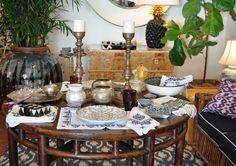 Palm Beach Mecox table setting! #interiordesign #home #decor #design