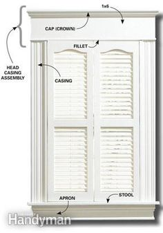 Exterior Door Trim Simple craftsman style door and window trim | this morning i opened my