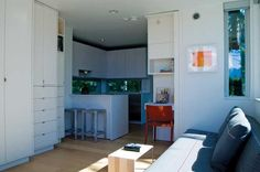 inside of l41 prefab home