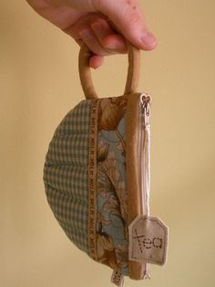 TeaCup pouch 9 by PatchworkPottery, via Flickr