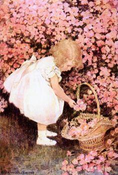 """Um """"Leilão de jardim"""" de Cecília Meireles Quem me compra um jardim com flores? Borboletas de muitas cores, lavadeiras e passarinhos, ovos verdes e azuis nos ninhos? ... O Lobo Leitor"""