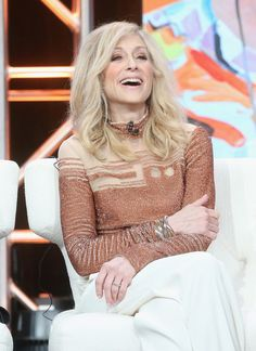 Judith Light Photos - Actress Judith Light speaks onstage at the 'Transparent' panel discussion during the Amazon portion of the 2016 Television Critics Association Summer Tour at The Beverly Hilton Hotel on August 7, 2016 in Beverly Hills, California. - 2016 Summer TCA Tour - Day 12