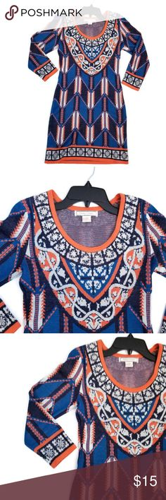 "Flying Tomato Boho Chic Aztec Dress Size S All measurements were take when laid flat on a flat surface. Not all tape measurements are created equally so there may be a slight deviation of size. Please measure one of your loved dress to make sure that this dress will fit you like you want it to. Please take a look at pictures and if you have any questions do not hesitate to reach out to me prior to your purchase.  Bust: 16"" Armpit to Bottom of Dress: 25"" Flying Tomato Dresses"