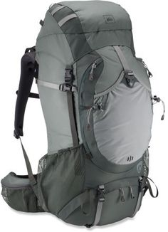 REI Crestrail 48 Pack - Men\s This might still be too much. Its on the wedding registry and we can return it if necessary.
